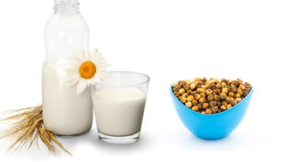भुने चने और दूध के फायदे (Benefits of Gram and Milk)