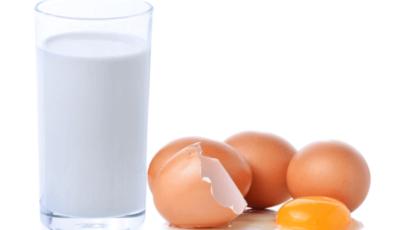 कच्चा अंडा और दूध पीने के फायदे